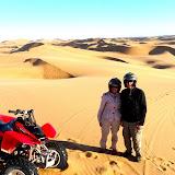 Quad biking on the Dunes of Swakopmund