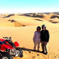 Quad biking on the Dunes of Swakopmund