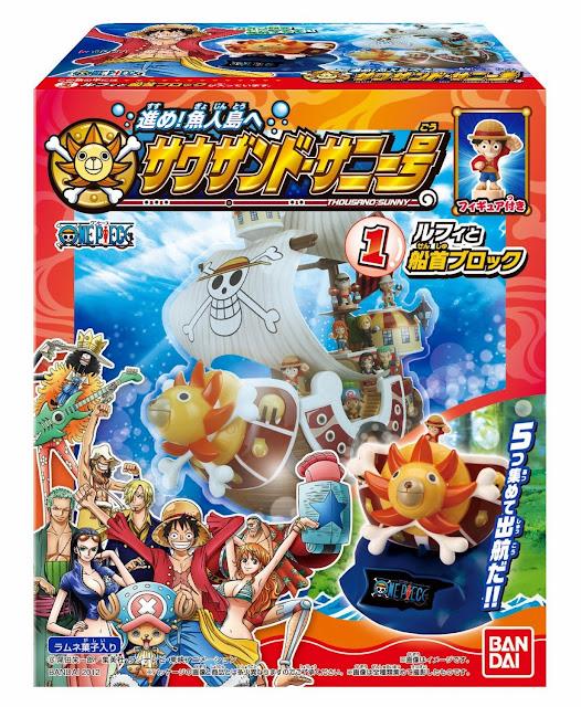 Mô hình One Piece - Southand Sunny được sản xuất từ chất liệu an toàn bởi hãng Bandai - Nhật Bản