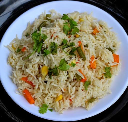 Microwave Vegetable Pulao