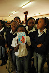 An all girls school in Soweto, South Africa