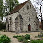 Chapelle Saint-Blaise-des-Simples : angle nord-ouest et jardin