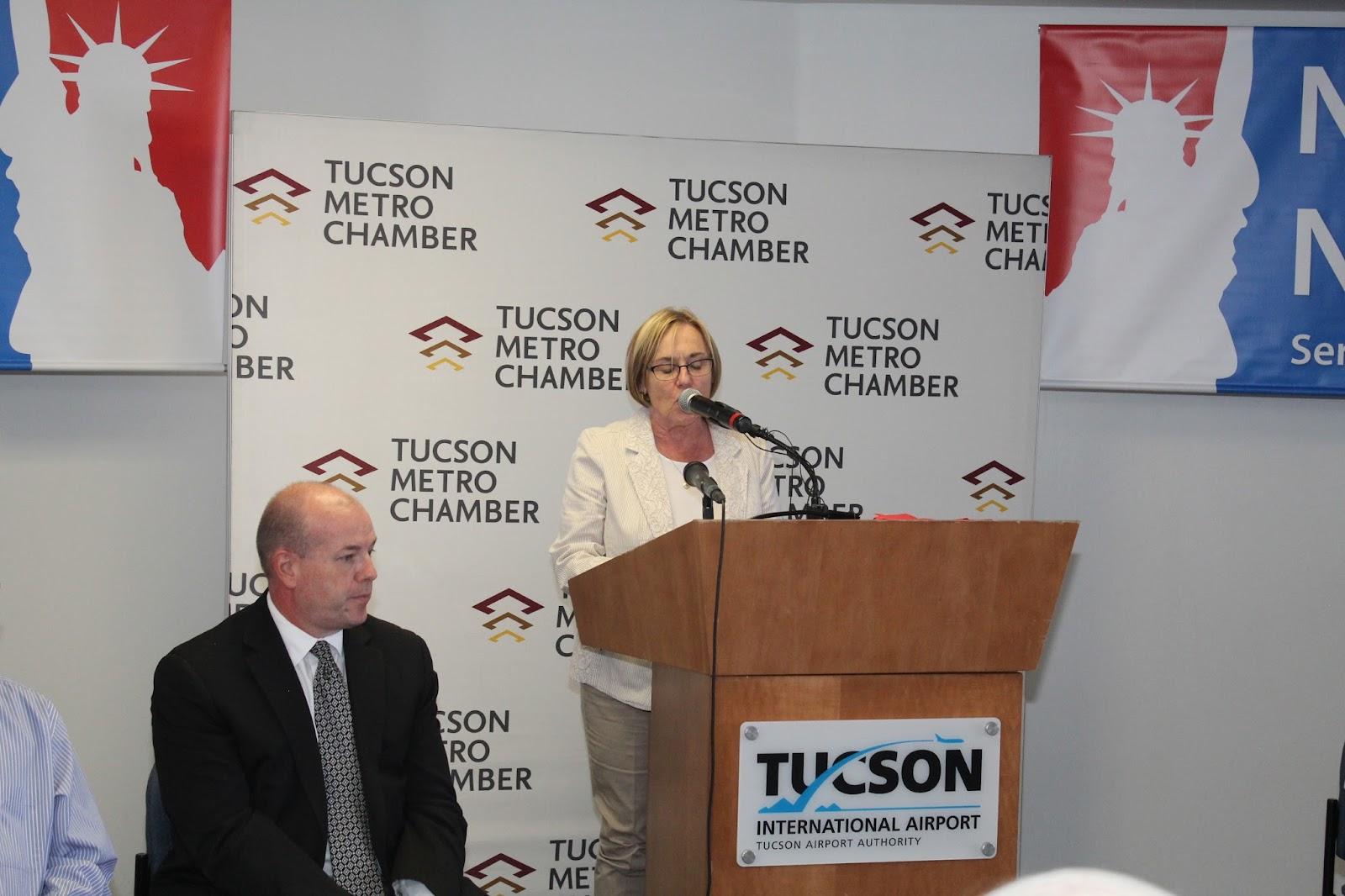 Tucson - JFK Non-Stop Route Announcement - IMG_3216.JPG