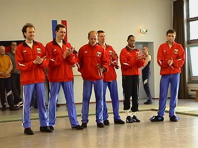 Freundschaftswett- kampf gegen das französiche Nationalteam 2003 - IMGA0157.JPG