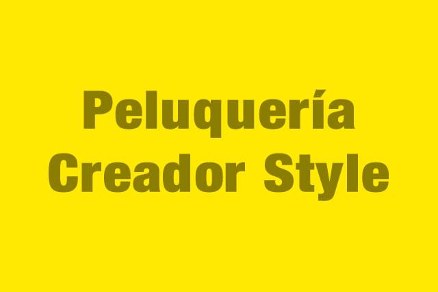 Peluquería Creador Style es Partner de la Alianza Tarjeta al 10% Efectiva