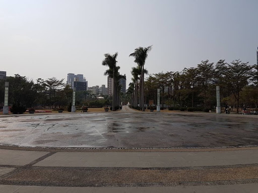 Fountain at Central Park in Kaohsiung