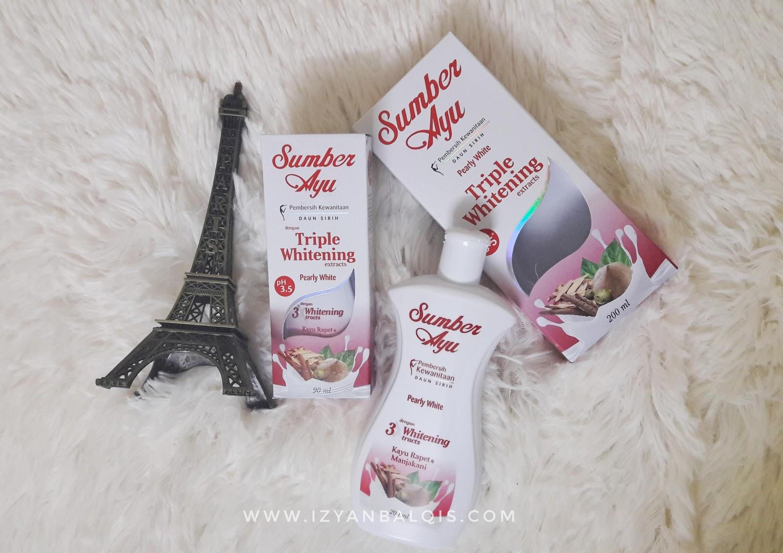 Sumber Ayu 3X Whitening Pearly White Kembalikan Keyakinan Setiap Wanita