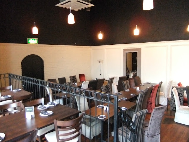 Painting of the function room at the Fat Olive (Ormskirk)