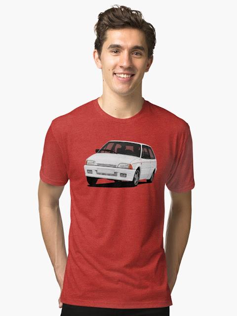 Cool Citroën AX GT t-shirt