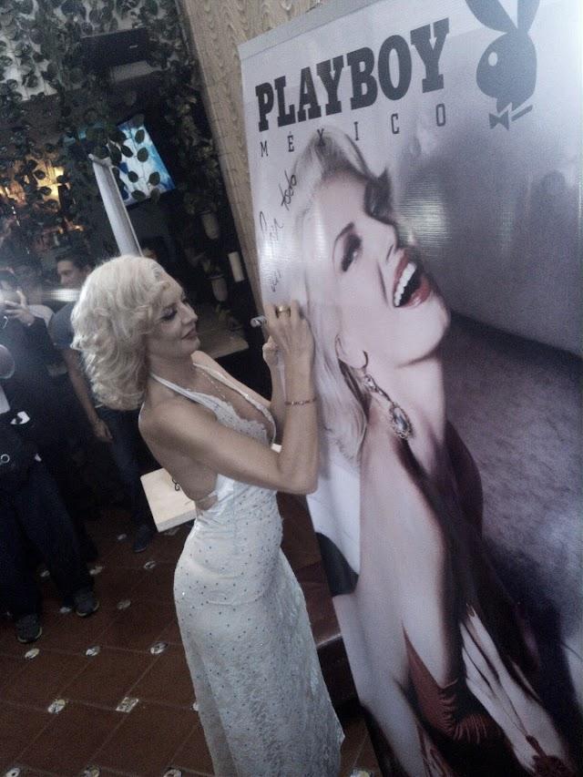 Isabel Madow, La Marilyn Monroe mexicana en la portada de los 13 años de la edición PLAYBOY México