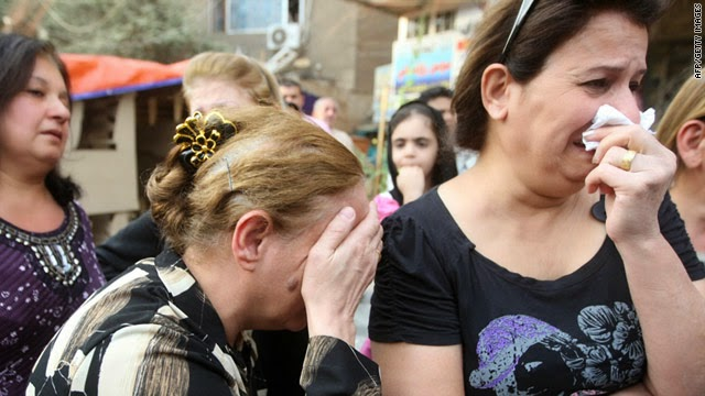 Lebanese Christians beg the world for aid