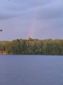 Rainbow over Loon Lake