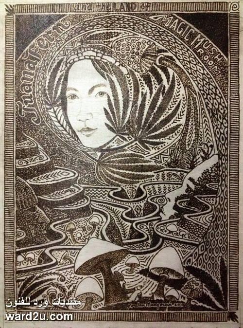 لوحات مذهلة باستخدام طاقة الشمس للفنان Jordan Mang osan
