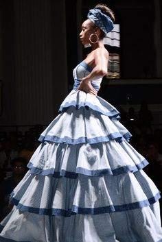 shweshwe dresses by bongiwe walaza