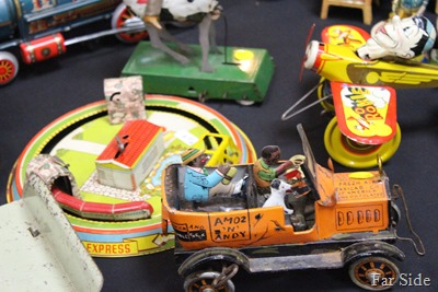Train Show antique toys