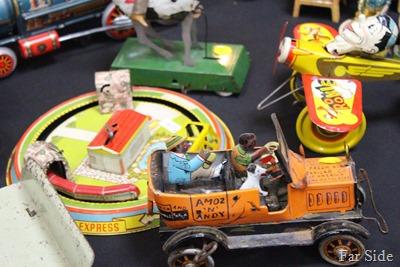 Train Show antique toys