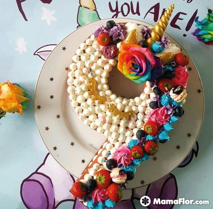 tortas con números 12