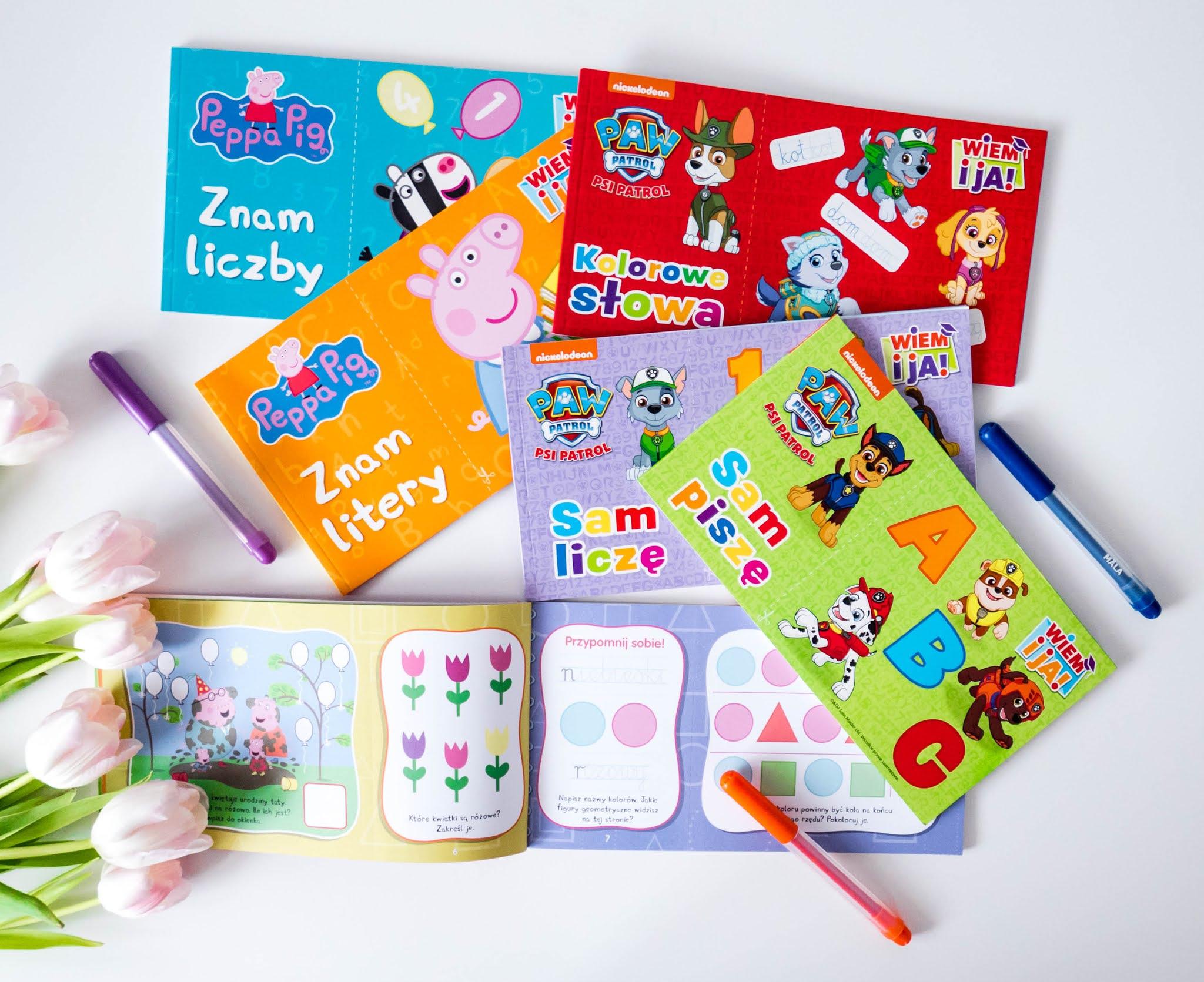 nauka pisania dla dzieci