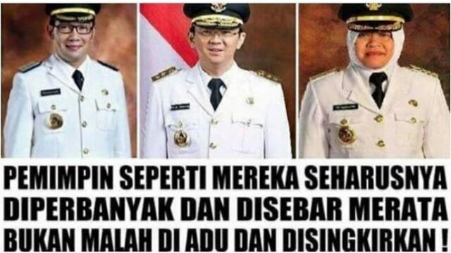 Dari Risma, Ridwan Kamil, dan Ahok. Pemimpin Terbaik Daerah Haruskah Berebut Kursi Untuk DKI 1?