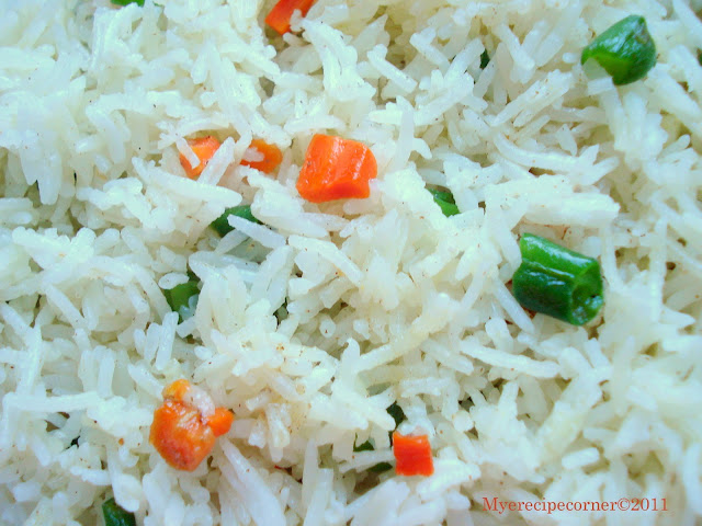how to make vegetable fried rice chinese style