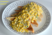 Corn on Toast