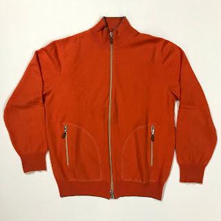 Brunello Cucinelli Orange Cashmere Sweater