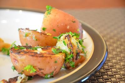 Pan-Roasted Lemon Potatoes {peasandcues}