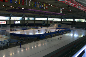 Interior of Calgary Olympic Oval