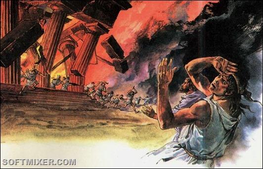 Храм-Артемиды-пожар