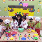 Healthy Fruit Salad Day Celebrated by Playgroup Morning Section at Witty World, Chikoowadi (2018-19)