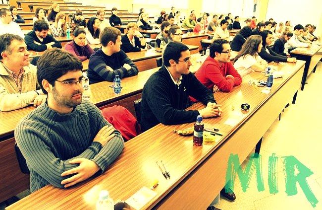 Examen MIR en Pamplona
