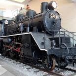 train at the war museum in Tokyo in Chiyoda, Tokyo, Japan