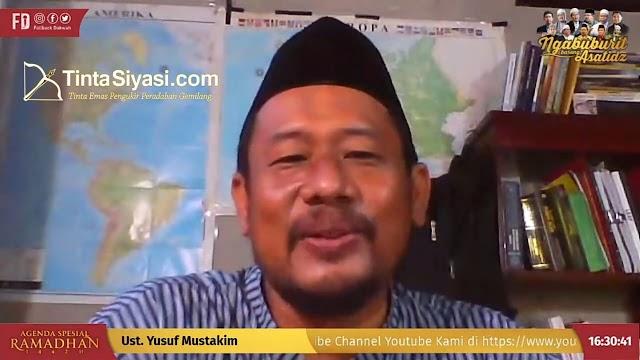 Ustaz Yusuf Mustakim: Makan Makanan Haram Tanda Manusia Tidak Bersyukur
