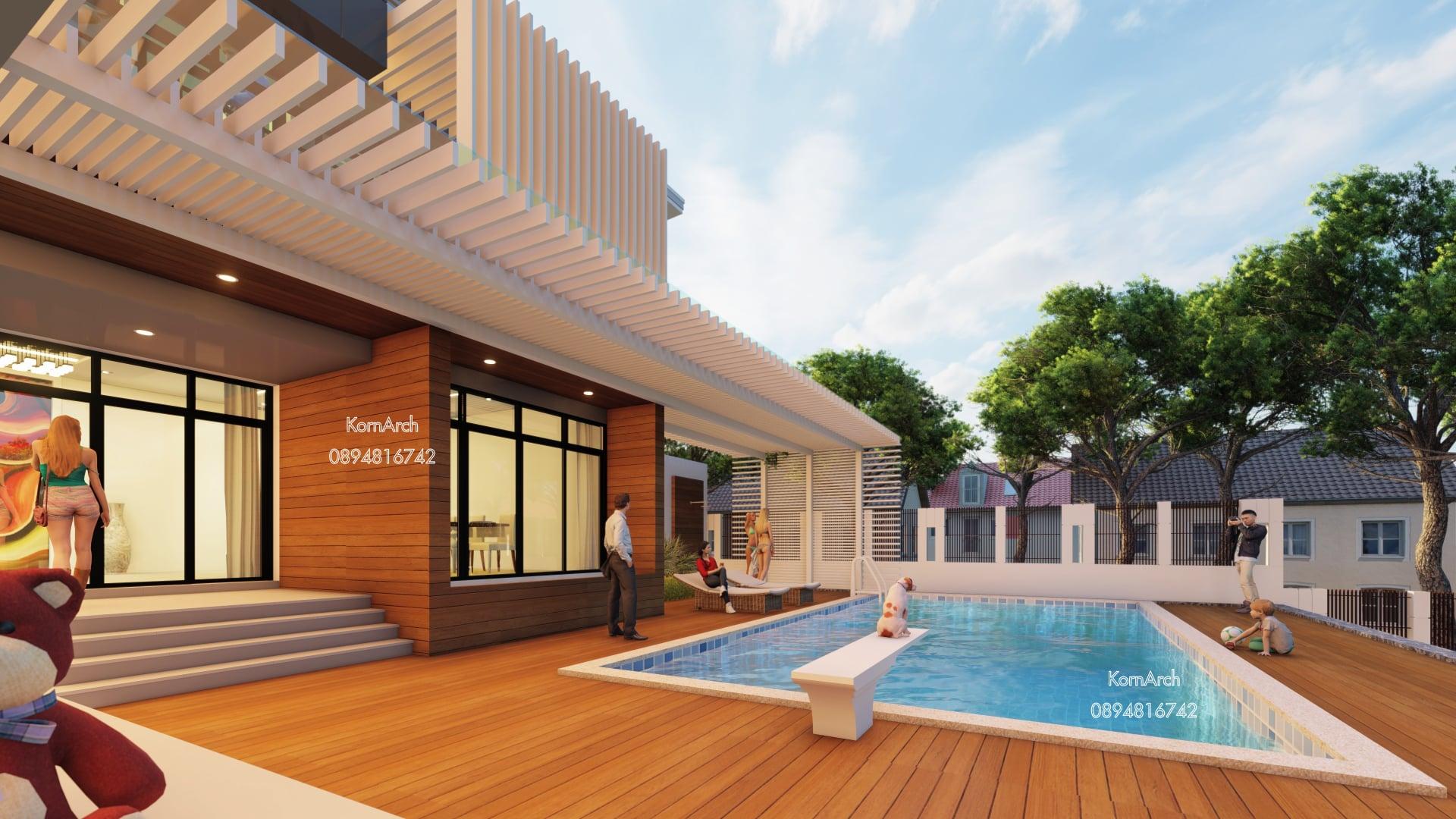 แบบบ้าน3ชั้น(มีชั้นใต้ดิน)พร้อมสระว่ายน้ำ เจ้าของอาคาร บริษัท สยาม รอยัล เอนเนอร์ยี่ จำกัด สถานที่ก่อสร้าง ต.นาโคก อ.เมืองสมุทรสาคร จ.สมุทรสาคร