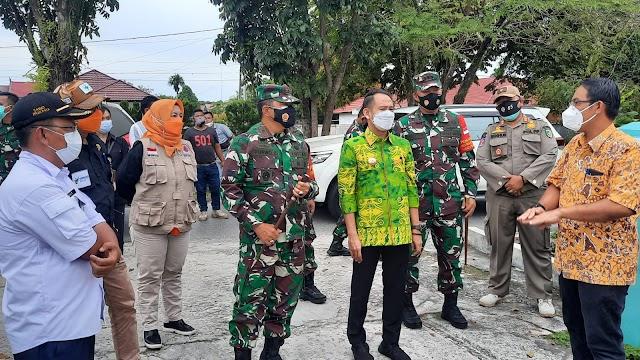 Antisipasi Lonjakan Covid-19, Walikota dan TNI Cek Kemampuan RS