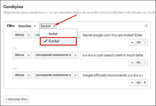 Como eliminar spam do Google Analytics e obter valores reais de audiência - Visual Dicas