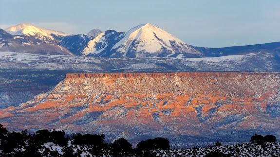 Haystack Mountain above South Mesa