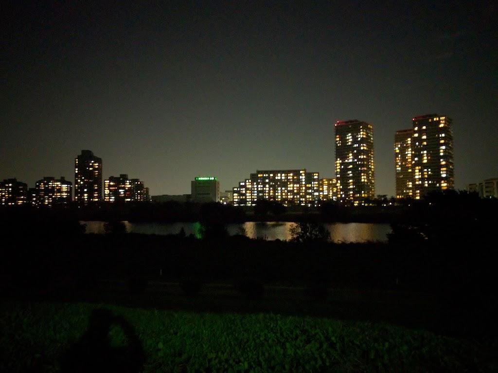 Nexus5Xカメラによる夜景写真