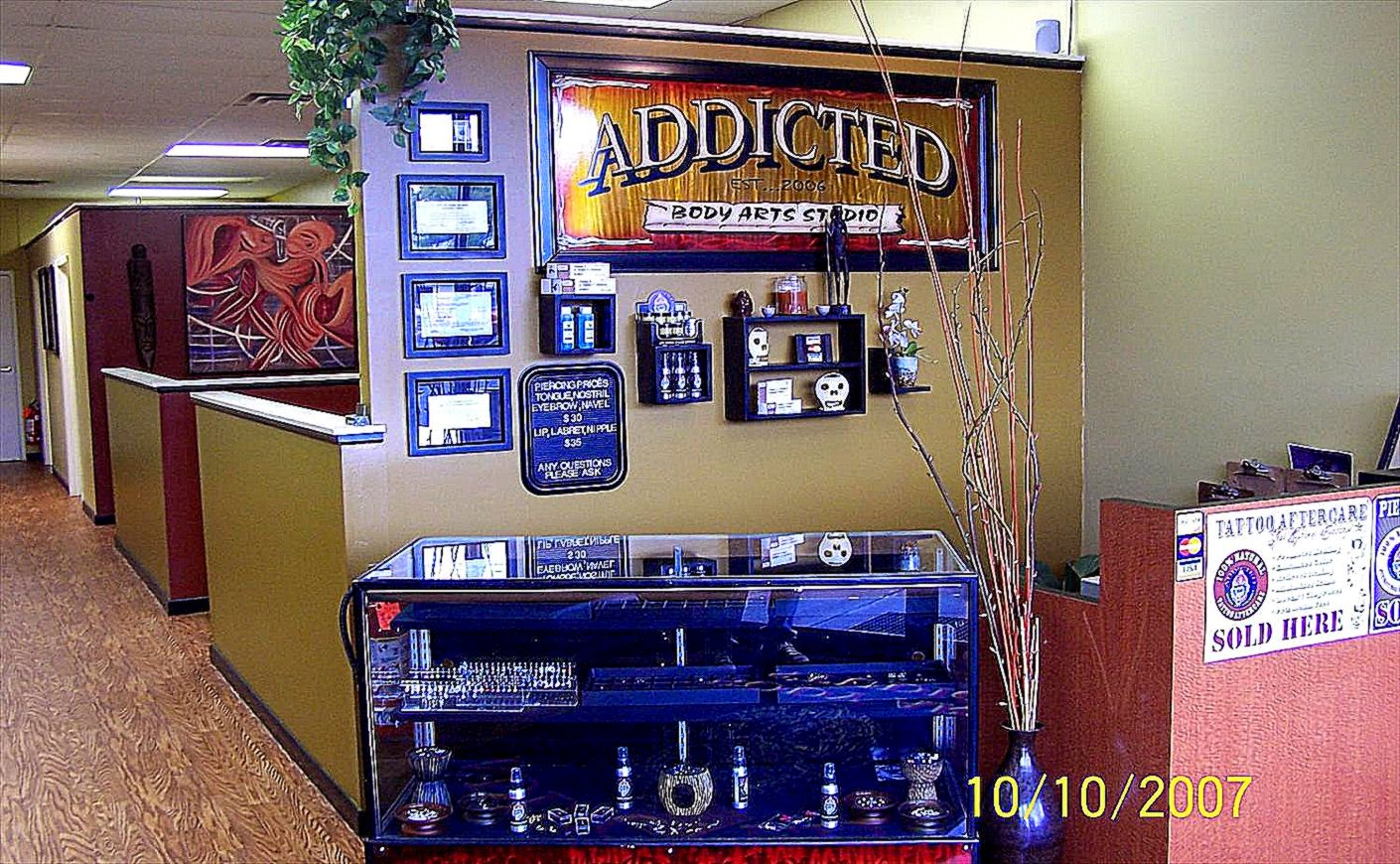 Addicted Body Art Studio   Cleveland Hot List