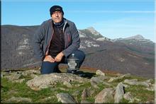 Oketa mendiaren gailurra 1.031 m. --  2015eko azaroaren 15ean