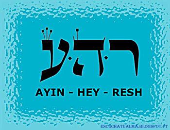 AYIN HEY RESH