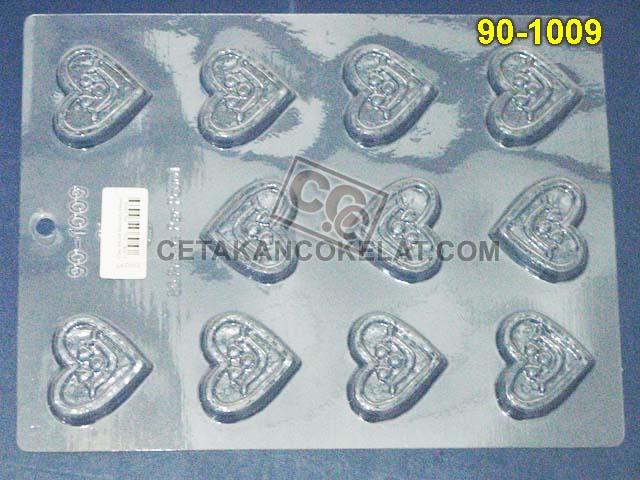 Cetakan Coklat cokelat love 90-1009