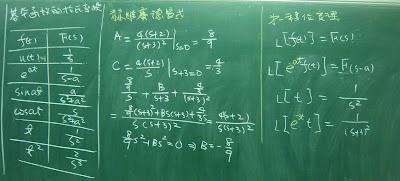 第一移位定理求1/(S+3)^2的拉氏反變換