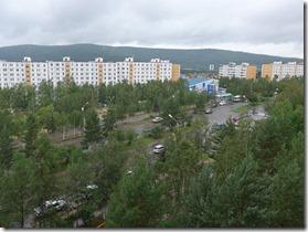 vue sur tynda ulitsa Krasnaya Presnya