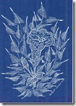 355 Zentangle Blue Flower