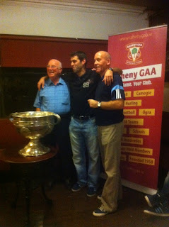 Sam with Eamonn Curley and Pearse Donnegan