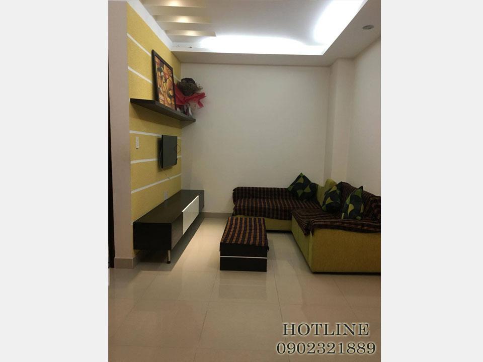 căn hộ cho thuê 55m2 - căn hộ Dịch vụ tại Quận Tân Bình