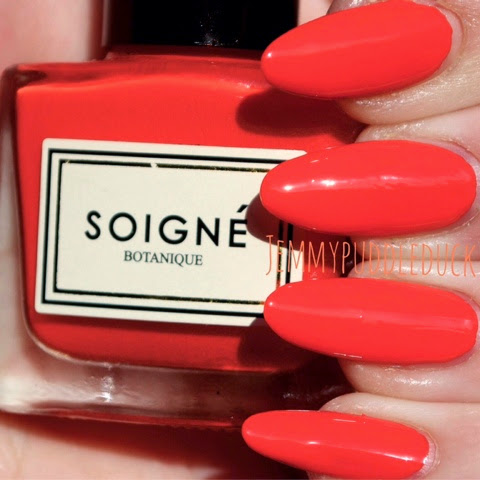 Soigné nail lacquer polish varnish birchbox may 2014