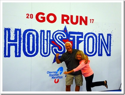 Go Run Houston sign