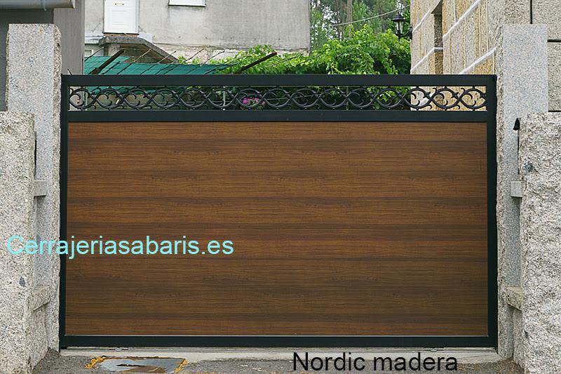 Puertas correderas de jardin puertas automaticas - Puertas correderas para jardin ...